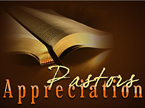 Pastor Appreciation Month - Marion Online